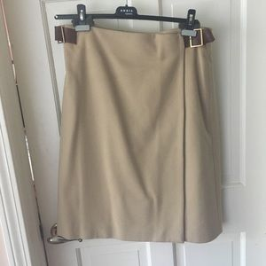 Camel haired women's skirt